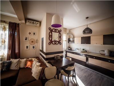 inchiriere apartament 2 camere +garaj Trifoiului Buna Ziua