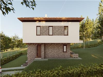 Vanzare vila 5 camere, 1330 mp teren in Faget